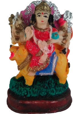 Giftvalley Exclusive Durgaon Lion Statue Showpiece  -  7.5 cm