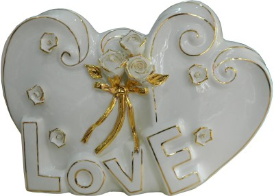 GiftsGannet Antique Ceramic Decorative Love Showpiece  -  23 cm