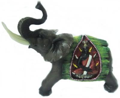Giftwell elephant buddha Showpiece  -  20 cm