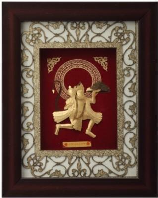 Aarya 24kt Hanuman Small Showpiece  -  29 cm