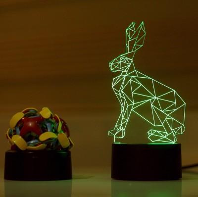 Lab No. 4 Rabbit Animal Showpiece  -  18.9 cm