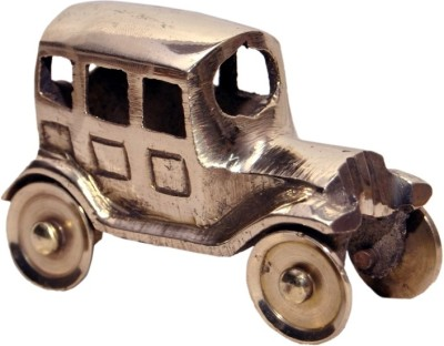 Being Nawab Handcrafted Mini Brass Car 7 cm Showpiece  -  4.5 cm