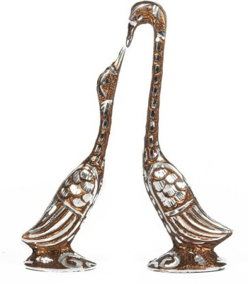 EtsiBitsi Mini Brown Saras Pair Eb_figur_076 Showpiece  -  17 cm