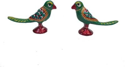 Gaura Art & Crafts GACMTPP Showpiece  -  5 cm(Brass, Multicolor)