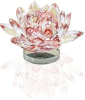 Odisha Bazaar AAB-05 Showpiece  -  6.5 cm(Crystal, Maroon)