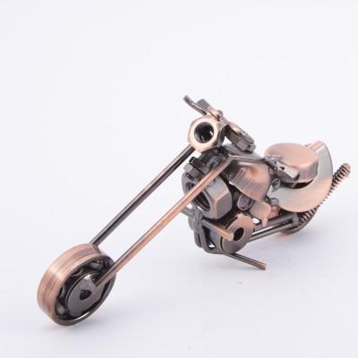 Urban Monk Creations Scrap Metal Bike 02 Showpiece  -  8 cm