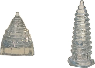 Mann Retails Blessed shri and positive energy tower for vastu correction Showpiece  -  4 cm