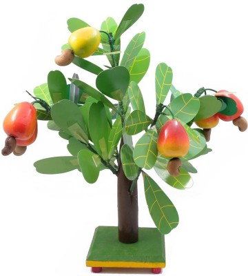 Woodde Showpiece  -  30 cm(Wooden, Multicolor)