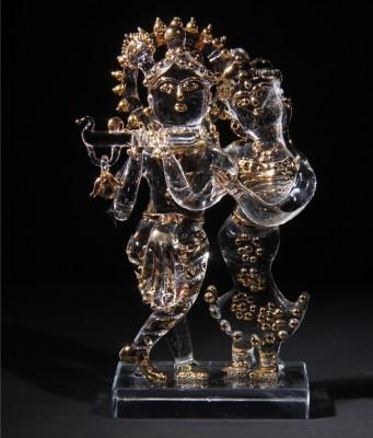 Sutra Decor Radha Krishna Medium Showpiece  -  6 cm