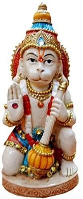 Anant Jai Veer Hanuman Idol Showpiece  -  14 cm