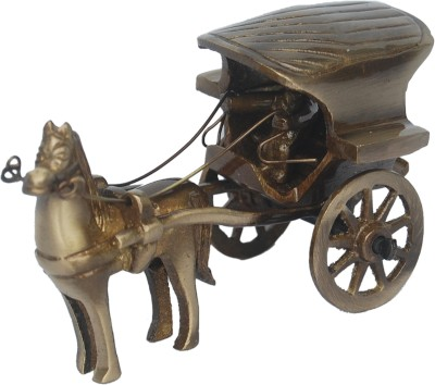 Aakrati Horse Cart Of For Gift Anddecor Showpiece  -  6 cm