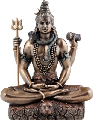 Craftghar Lord Shiva Showpiece  -  22 cm