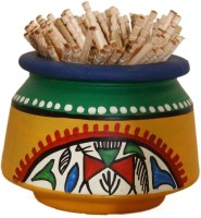 Unravel India Showpiece  -  2 cm(Terracotta, Yellow) best price on Flipkart @ Rs. 349