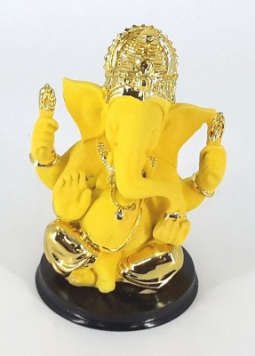 Swissport Fascinating Ganesha Showpiece  -  14 cm