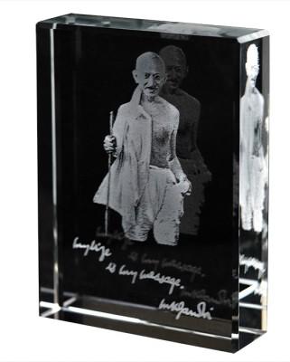 Eternal Gandhi Stick Mark II Showpiece  -  8 cm