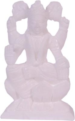 Avinash Handicrafts White alabaster Laxmi Showpiece  -  16 cm
