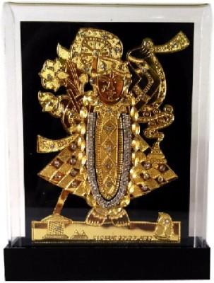Divine Temples Attractive Shreenath ji Showpiece  -  16 cm