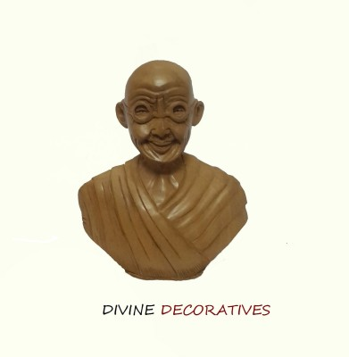 Divinecrafts Decorative Gandhiji Bust Showpiece  -  7.62 cm