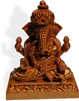 Fancy Interio Thailand Ganesha-Brown Color Showpiece  -  9 cm