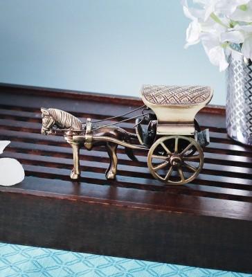 Being Nawab Antique Royal Horsecart Showpiece  -  6 cm