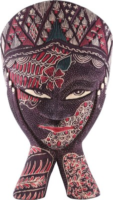 Furncoms Two Hand Mask Large Showpiece  -  29 cm