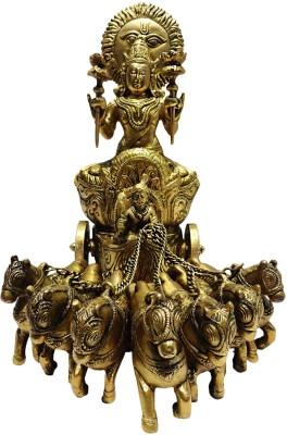 brass gift center Surya Rath Showpiece  -  27 cm