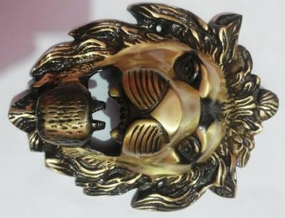 Sparkle India Lion Face Showpiece  -  5 cm