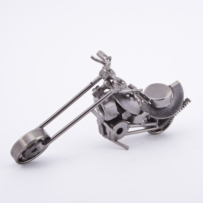 Urban Monk Creations Scrap Metal Bike01 Showpiece  -  8 cm