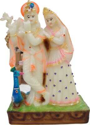 Raghav Radha krishna Idol Showpiece  -  11 cm