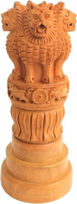 Craft International Ashoka Pillar - 7 Inch Showpiece  -  21 cm