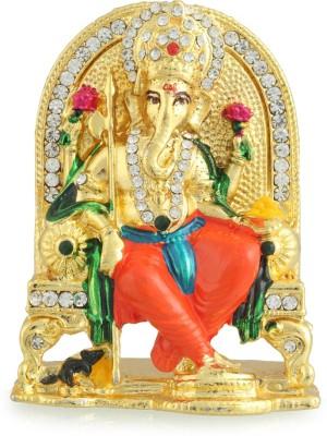Divine Gifts & Artificial Jewellery Ganesha Kartik Showpiece  -  8 cm