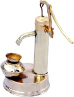 Folkshopz Stylo Showpiece  -  12 cm(Brass, Gold)