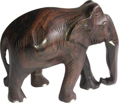 Arya Krishna Rosewood Elephant Showpiece  -  15.5 cm