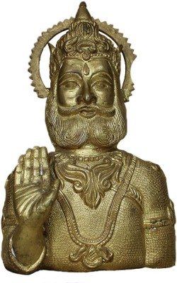 IndianShelf Agrasen Statue Showpiece  -  16 cm(Brass, Multicolor)