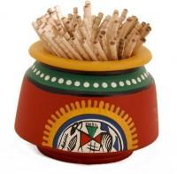 Unravel India Showpiece  -  2 cm(Terracotta, Red) best price on Flipkart @ Rs. 349