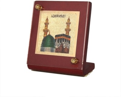 Sitare Mecca Swizz Made 24 kt Gold Foil Showpiece  -  6.0 cm