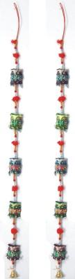 Surya Door Hanging Owl Showpiece  -  12 cm