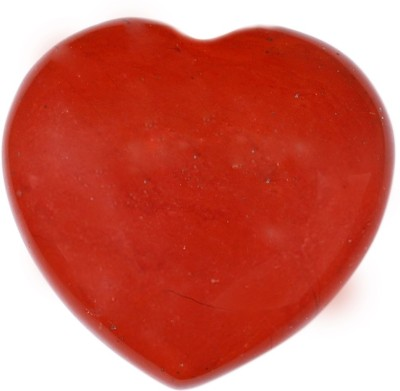SS Murti Handicrafts Traditional Red Jasper Love Heart Shape 2 Inch Showpiece  -  5.1 cm