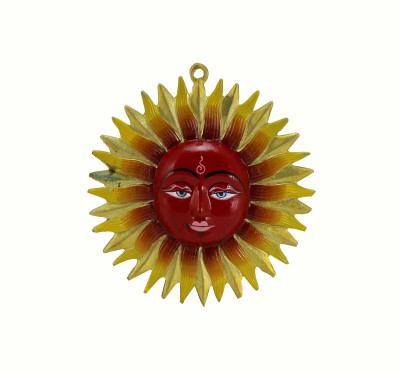 Pure Life Colored Surya Hanging Showpiece  -  18 cm