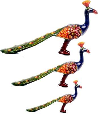 Surya Decorative Peacock Ml-3 Showpiece  -  12 cm