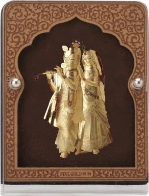 Aarya 24kt Radha Krishna Showpiece  -  9 cm