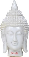Eternity Head statue Showpiece  -  18.75 cm(Ceramic, White)