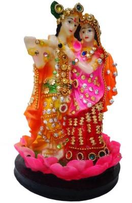 Indian Traditional Stores Radha Krishna Showpiece  -  20 cm