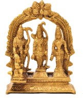 Aesthetic Decors Ram Darbar W Ring (Small) Showpiece  -  9.5 cm(Brass, Gold)