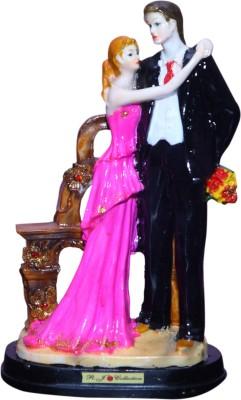 VAAH Valentino Showpiece  -  25 cm(Polyresin, Multicolor)