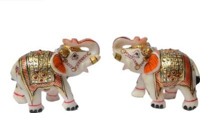 Kaku Overseas Decorative Eliphant Showpiece  -  10 cm