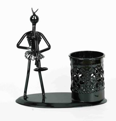 KHUSHI HANDICRAFTS PEN STAND Showpiece  -  12 cm