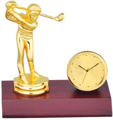Sale Funda Golf Player with clock Showpiece  -  10 cm