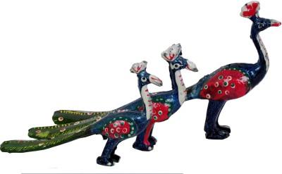 Surya Decorative Peacock M-3 Showpiece  -  12 cm