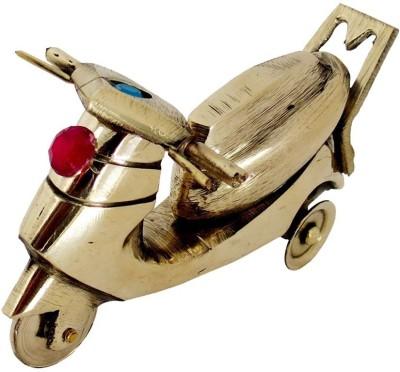 Inspiration World Brass Antique Skooty Showpiece  -  6 cm